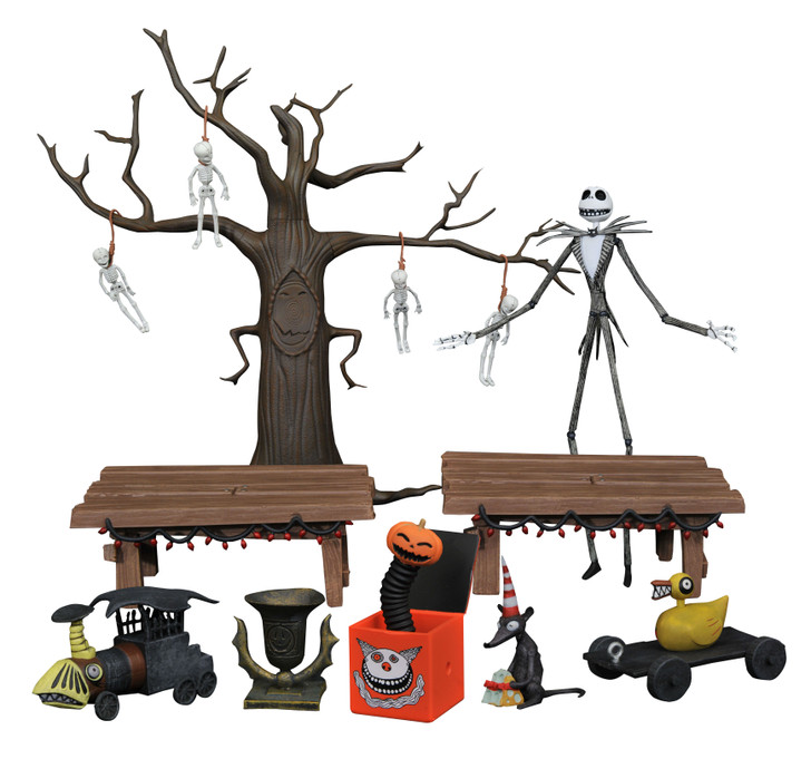 The Nightmare Before Christmas Deluxe Action Figure - Box Set
