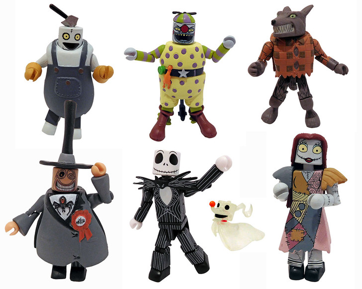 The Nightmare Before Christmas Minimates - Commemorative Gift Set - San Diego 2021 Exclusive