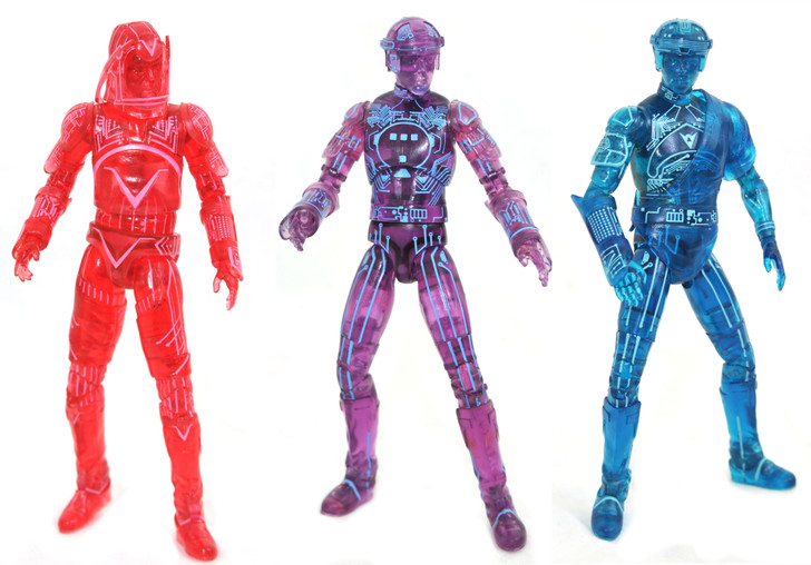 Tron (Retro) Deluxe Action Figure - Box Set