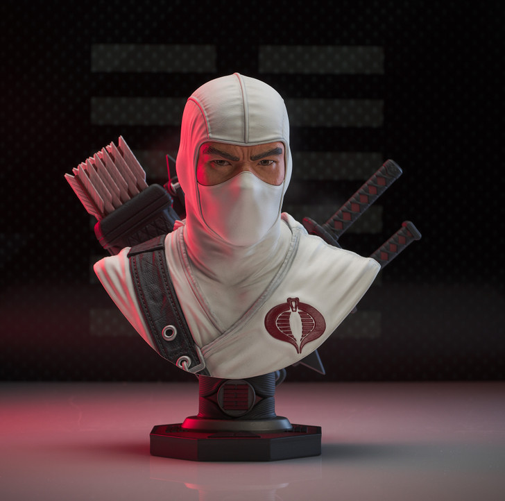 Storm Shadow Legends in 3-Dimensions Bust