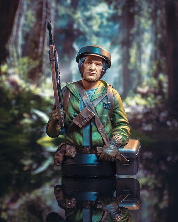 Endor Rebel Trooper Mini Bust