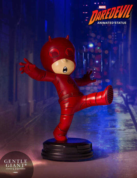 Daredevil Animated Statue