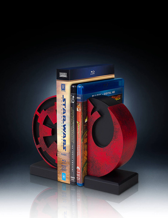 Imperial And Rebel Seal Bookends
