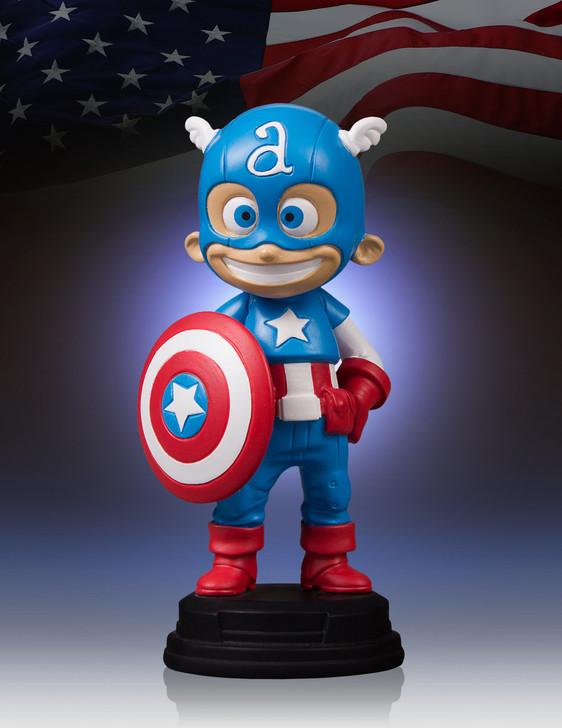 Marvel - Captain America Animated Statue