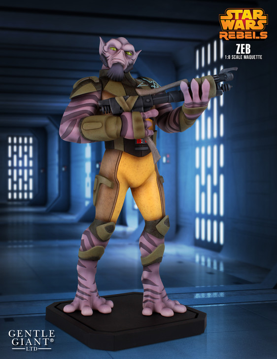 Star Wars™ Rebels - Zeb Maquette