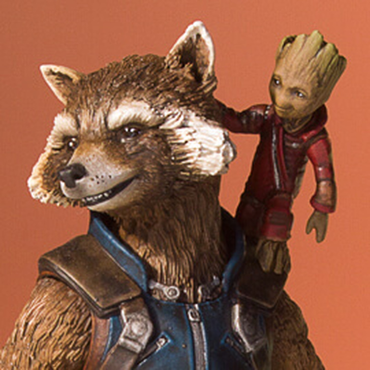 Rocket And Groot (Guardians Of The Galaxy Vol.2) Collectors Gallery Statue Thumbnail