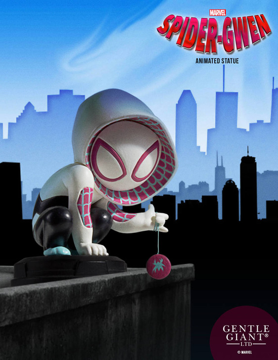 Marvel - Spider-Gwen Animated Statue