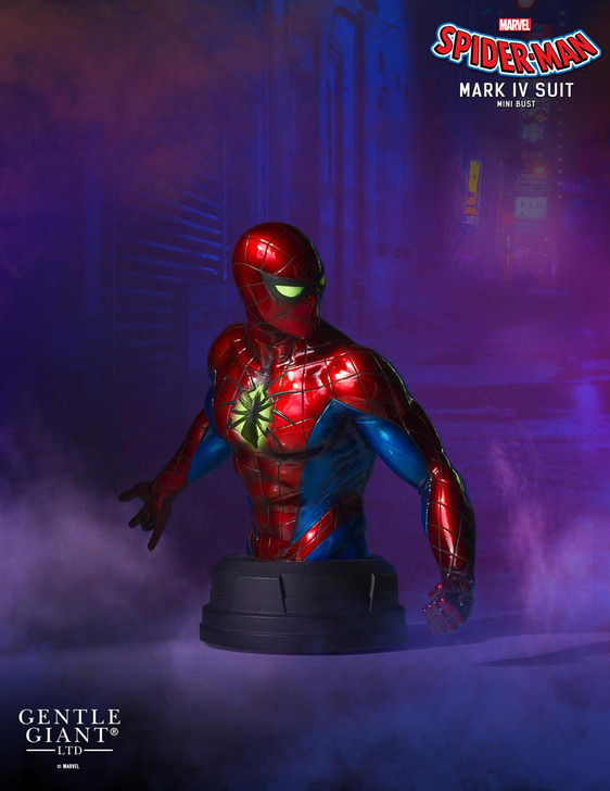 Marvel - Spider-Man (Mark IV Suit) Mini Bust