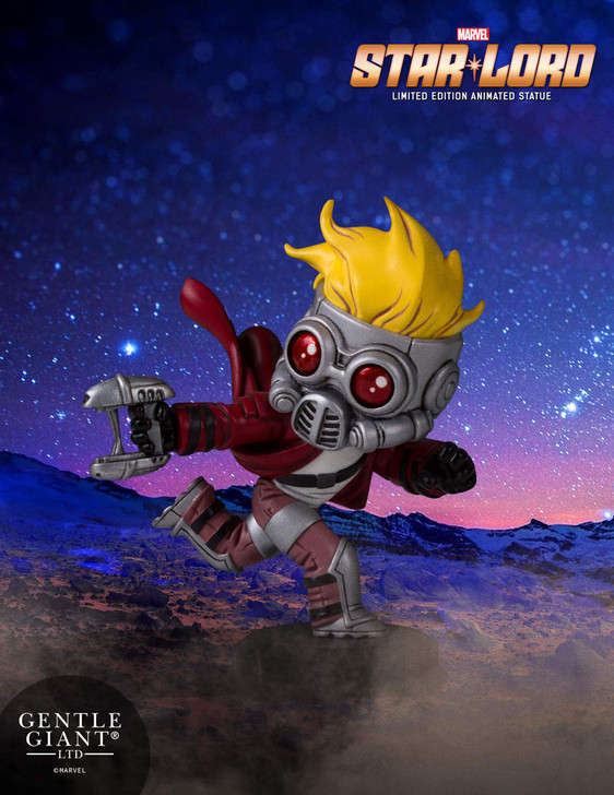 Marvel - Star-Lord Animated Statue
