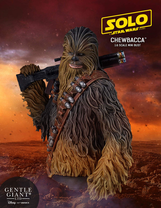 Solo: A Star Wars Story™ - Chewbacca Mini Bust