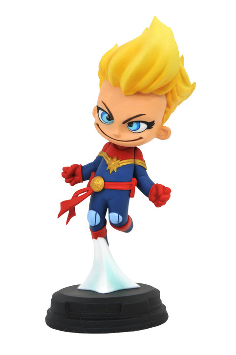Marvel - Captain Marvel Animated Statue