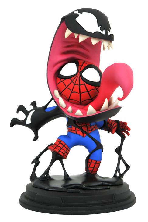 Venom & Spider-Man Animated Statue