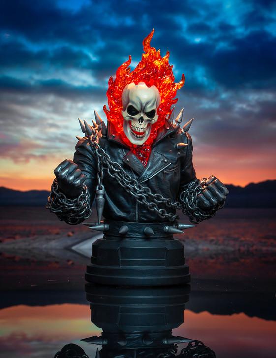 Ghost Rider Mini Bust