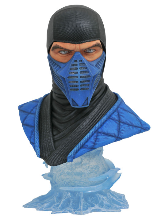 Legends in 3D Mortal Kombat Sub-Zero 1/2 Scale Resin Bust