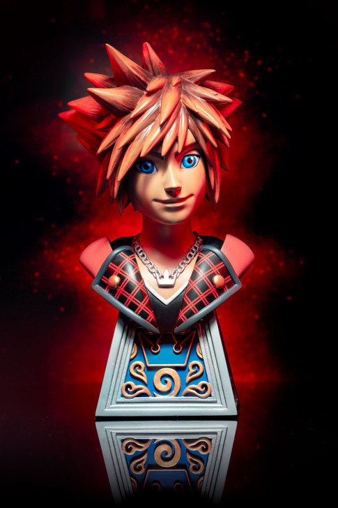 Legends in 3D Video Game Kingdom Hearts III Sora 1/2 Scale Bust