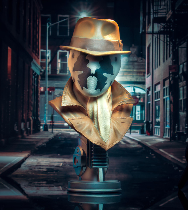 Legends in 3D Movie Watchmen Rorschach 1/2 Scale Bust