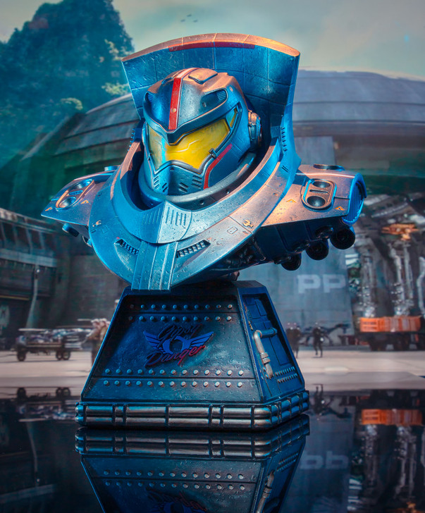 Legends in 3D Movie Pacific Rim Gipsy Danger 1/2 Scale Bust