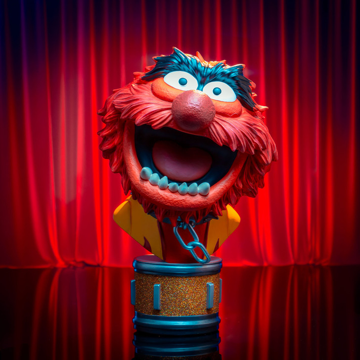 Legends in 3D Movie Muppets Animal 1/2 Scale Bust