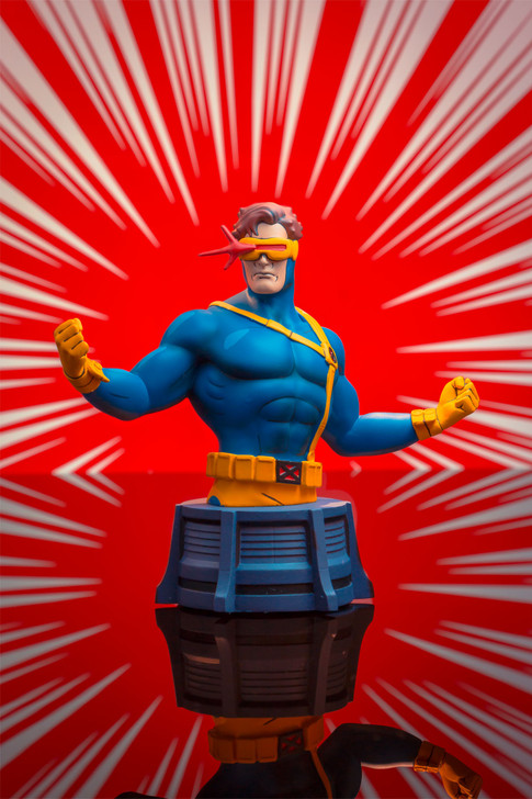Cyclops Animated Bust