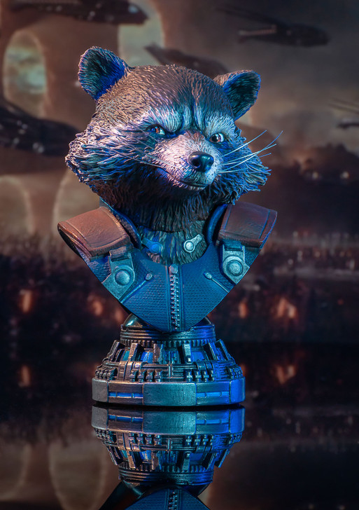 Rocket Raccoon Legends in 3-Dimensions Bust