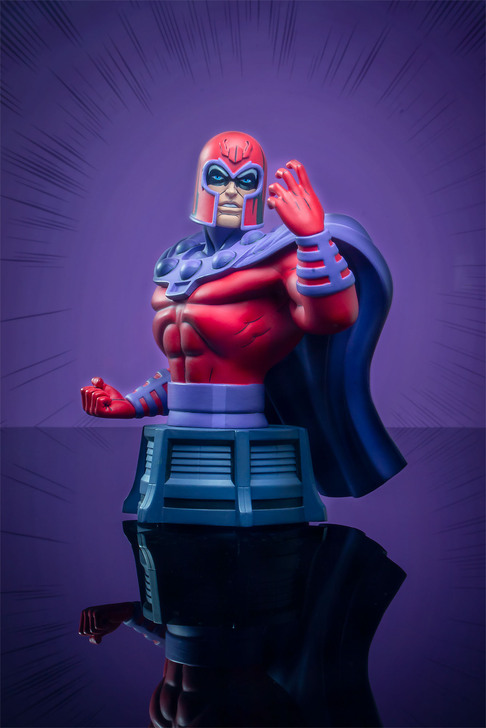 Magneto Animated Bust