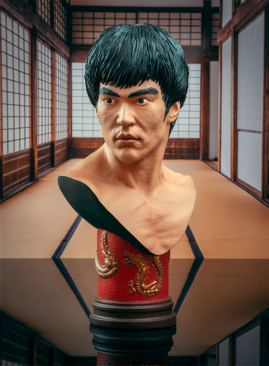 Bruce Lee Legends in 3-Dimensions Bust