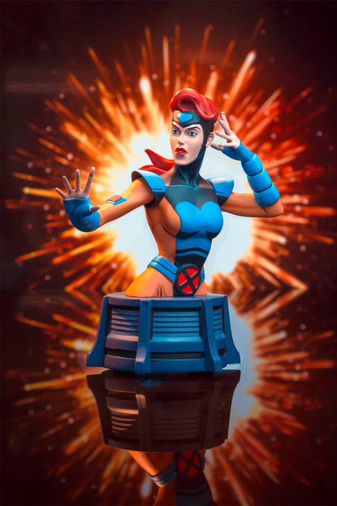 Jean Grey Animated Bust