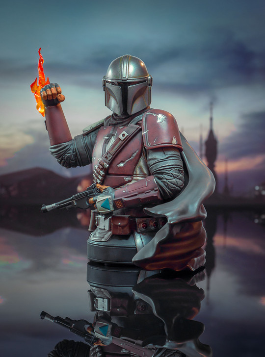 The Mandalorian Mini Bust