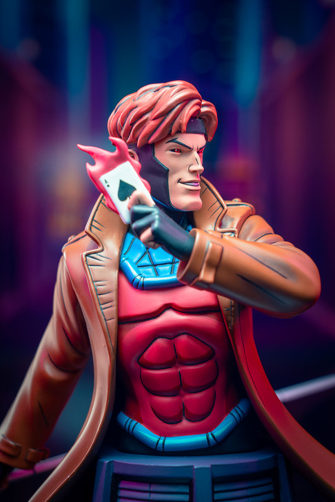 Marvel X-Men - Gambit Animated Bust