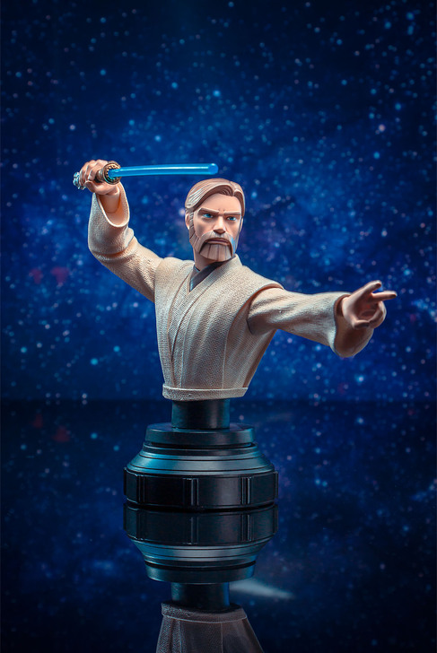 Obi-Wan Kenobi Animated Mini Bust