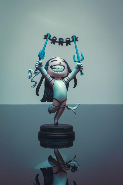 Elektra Animated Statue - 2020 SDCC Exclusive
