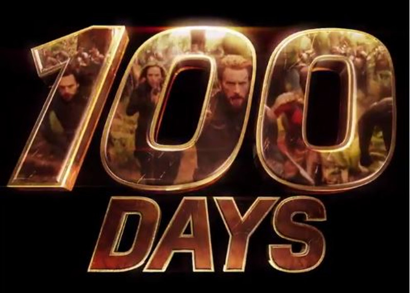 100 Days Until Avengers Infinity War!