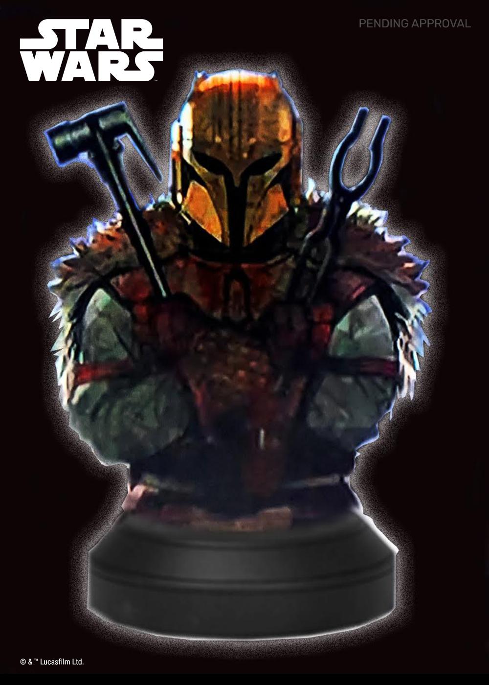 Mandalorian Armorer Mini Bust