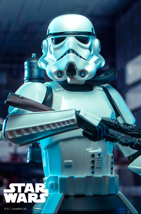Spacetrooper Mini Bust