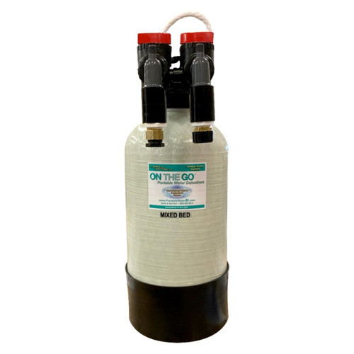 Aqualux Detail Supply Mixed Bed Double Standard Deionizer with Bypass