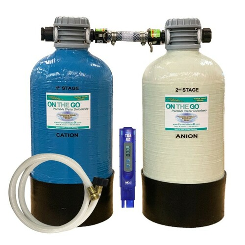 Aqualux Detail Supply Dual Bed Double Standard Deionizer