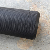 Slotted Base Knurled and Grooved Back