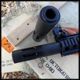 Convex Ported Barrel Shroud AR 15