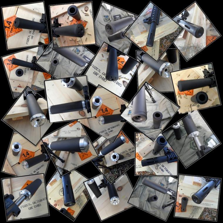 9mm Create Your Own Barrel Shroud 9mm AR 15 style rifles
