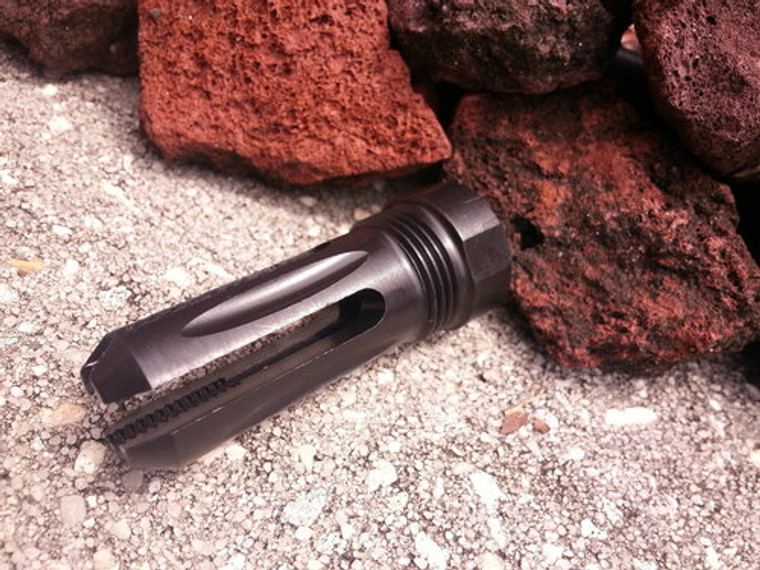 Prong Muzzle Brake with Cucussion/Redirector Sleeve