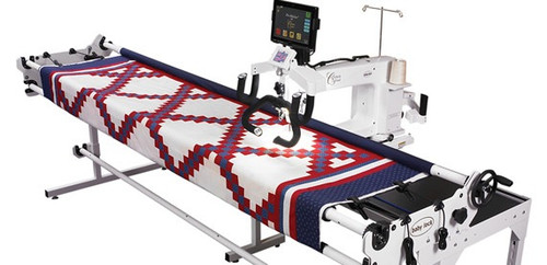 Shown with optional Crown Jewel II and Pro-Stitcher