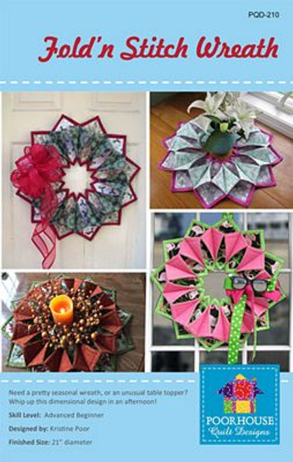 Fold-n-Stitch Wreath