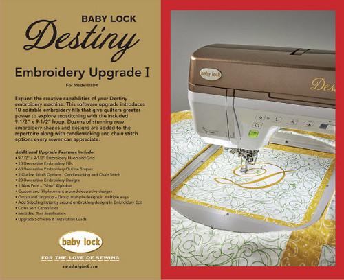 Destiny Embroidery Upgrade I