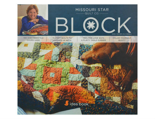 Missouri Star Block Magazine Early Winter VOL 3 Issue 6 - Cover photo.