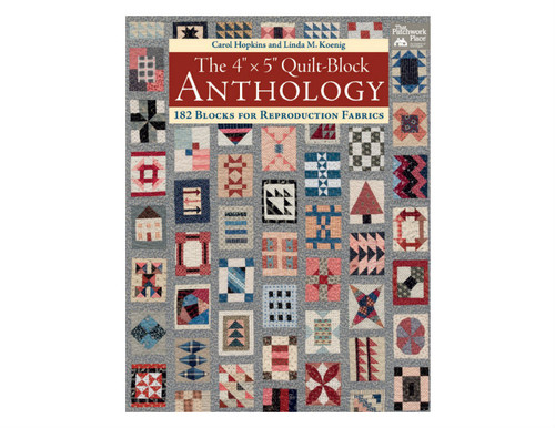 The 4in x 5in Quilt-Block Anthology - Softcover