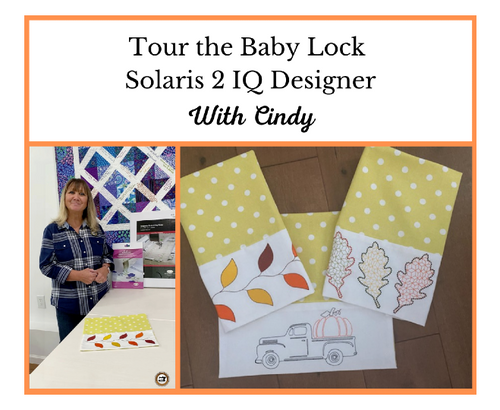 Tour the Baby Lock Solaris 2 IQ Designer