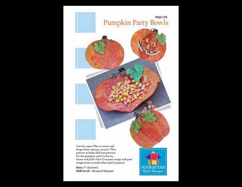Pumpkin Party Bowls Pattern