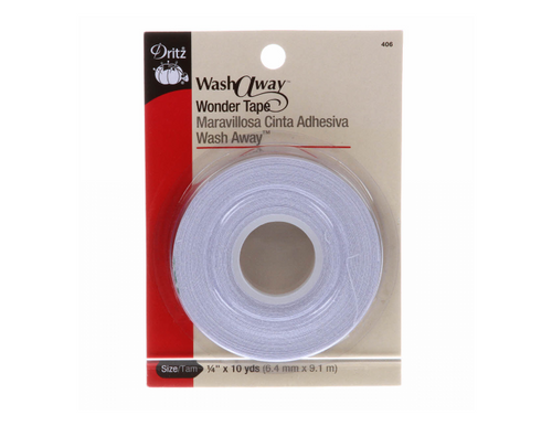 Wash-Away Wonder Tape 1/4in x 10yds