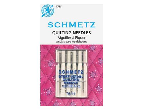 Schmetz Quilting Machine Needle 5 Ct, Size 75/11