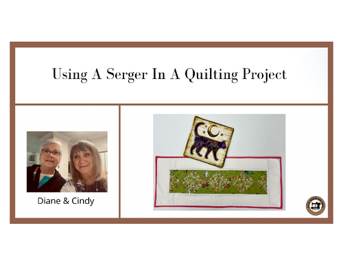 Using A Serger In A Quilting Project